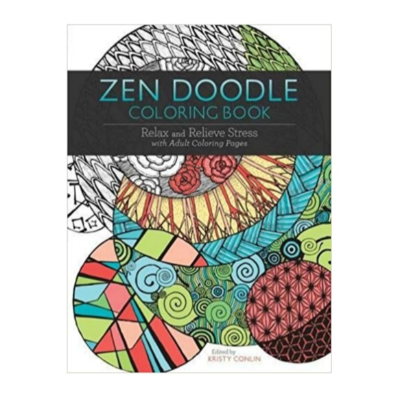 Other - Zen Doodle Adult Coloring Book